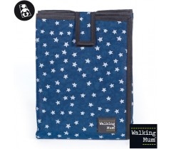 Walking Mum - Muda fraldas Denim Baby, Azul