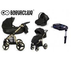 BabyActive - Carrinho de bebé 4 in 1 Mommy Gold Magic Dourado