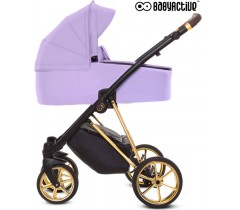 BabyActive - Carrinho de bebé 2 in 1 Musse Ultra Lilac