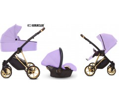 BabyActive - Carrinho de bebé 3 in 1 Musse Ultra Lilac