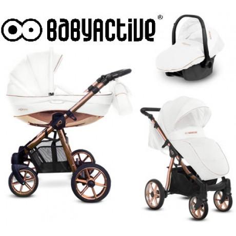 BabyActive - Carrinho de bebé 3 in 1 Mommy Rose Gold