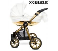 BabyActive - Carrinho de bebé 2 in 1 Mommy Glossy Gold