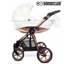 BabyActive - Carrinho de bebé 2 in 1 Mommy Rose Gold