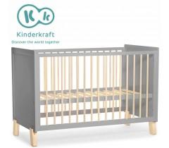 Kinderkraft - Cama de grades NICO grey