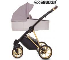 BabyActive - Carrinho de bebé 2 in 1 Musse Ultra Pastel
