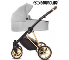 BabyActive - Carrinho de bebé 2 in 1 Musse Ultra Zen