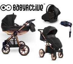 BabyActive - Carrinho de bebé 4 in 1 Mommy Rose Gold