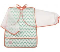 Saro - Babete de plástico com mangas